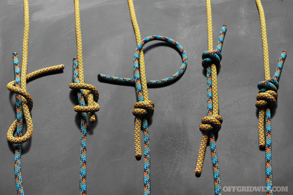 All Tied Up: 10 Easy Survival Knots