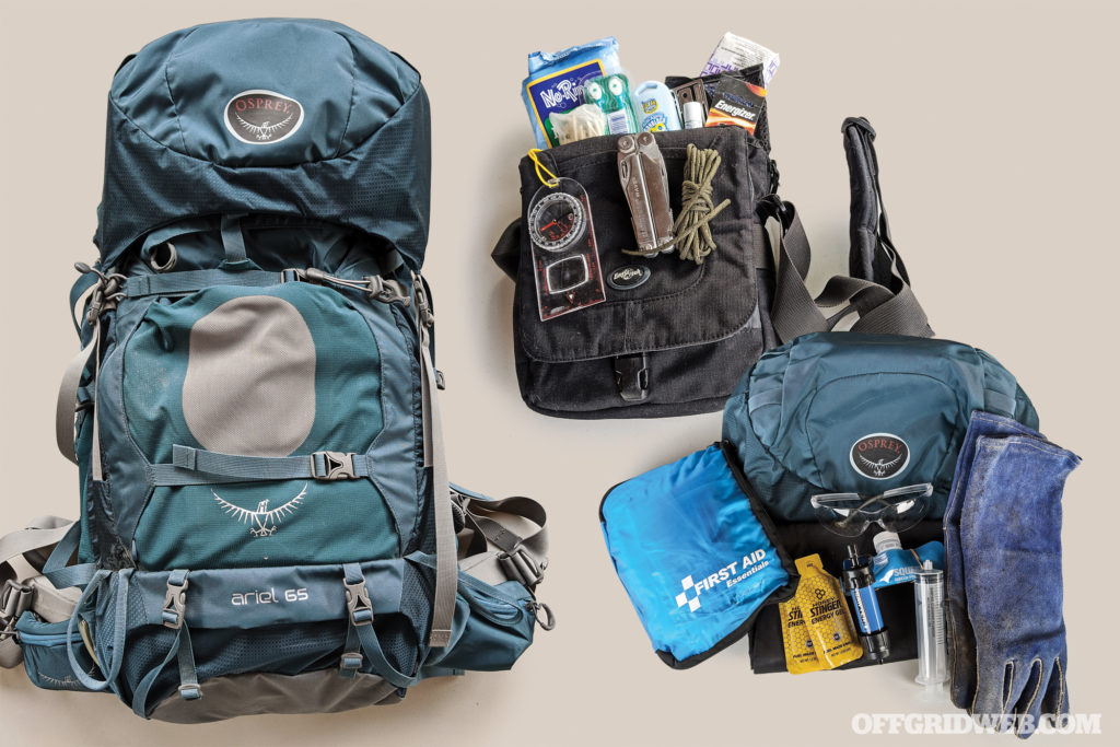 Bag Drop: The Wildfire Bug-Out Bag