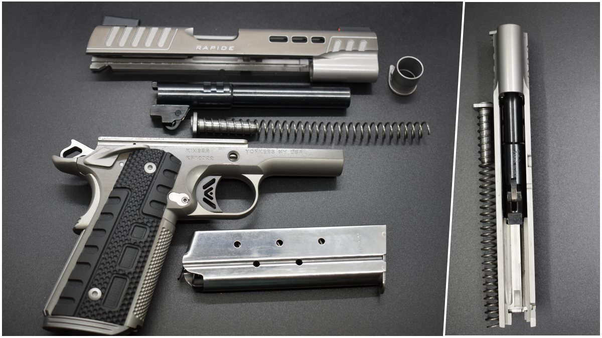 The Rapide is a 70 series M1911A1