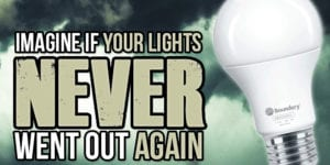 emergency led bulbs - battery powered